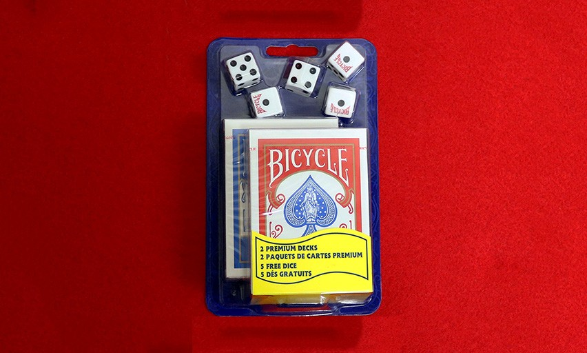 Bicycle Set (plus kostky)