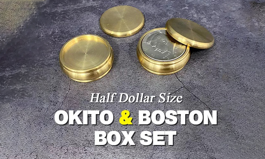 Okito Box and Boston Box